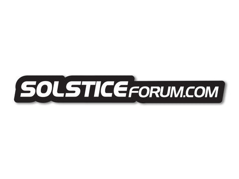 SolsticeForum.com Decals (set of 2)