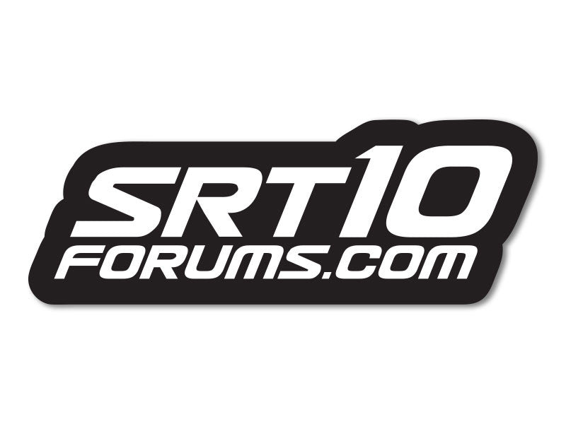 SRT10Forums.com Decals (set of 2)