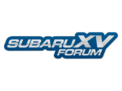 SubaruXVForum.com Decals (set of 2)
