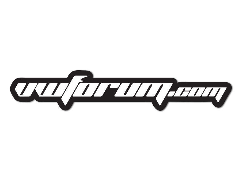 VWForum.com Decals (set of 2)