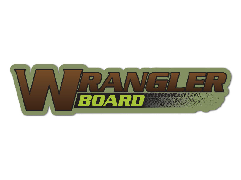 Wrangler Board Decals (set of 2)