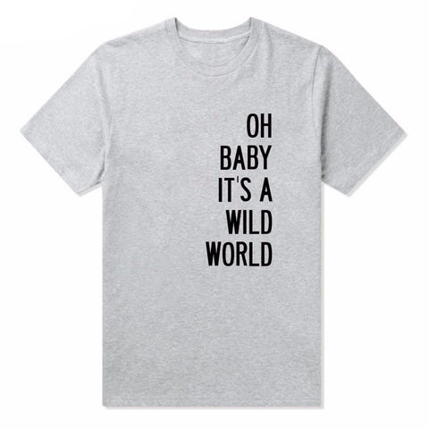 OH Baby It's a Wild World Printed Top