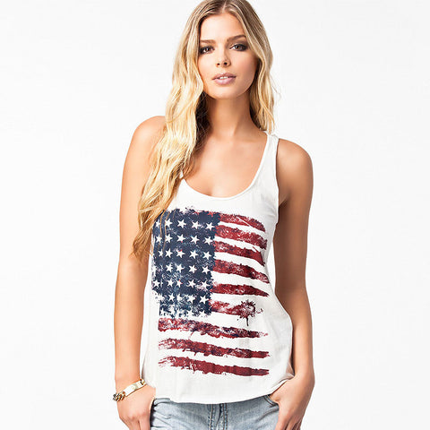 USA / America Graphics Tank Top