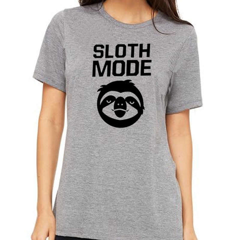SLOTH MODE Graphics Tees