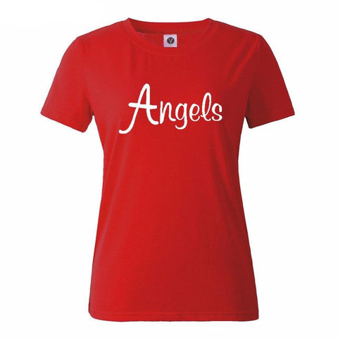 Angels Graphics Tops