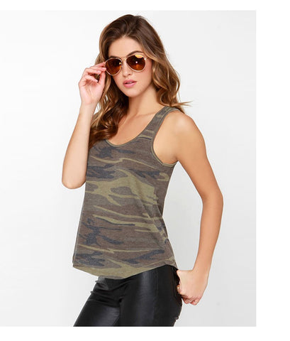 Army Graphics Crop Top
