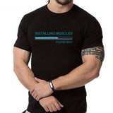 Image of Installing Muscles Graphics T-Shirt