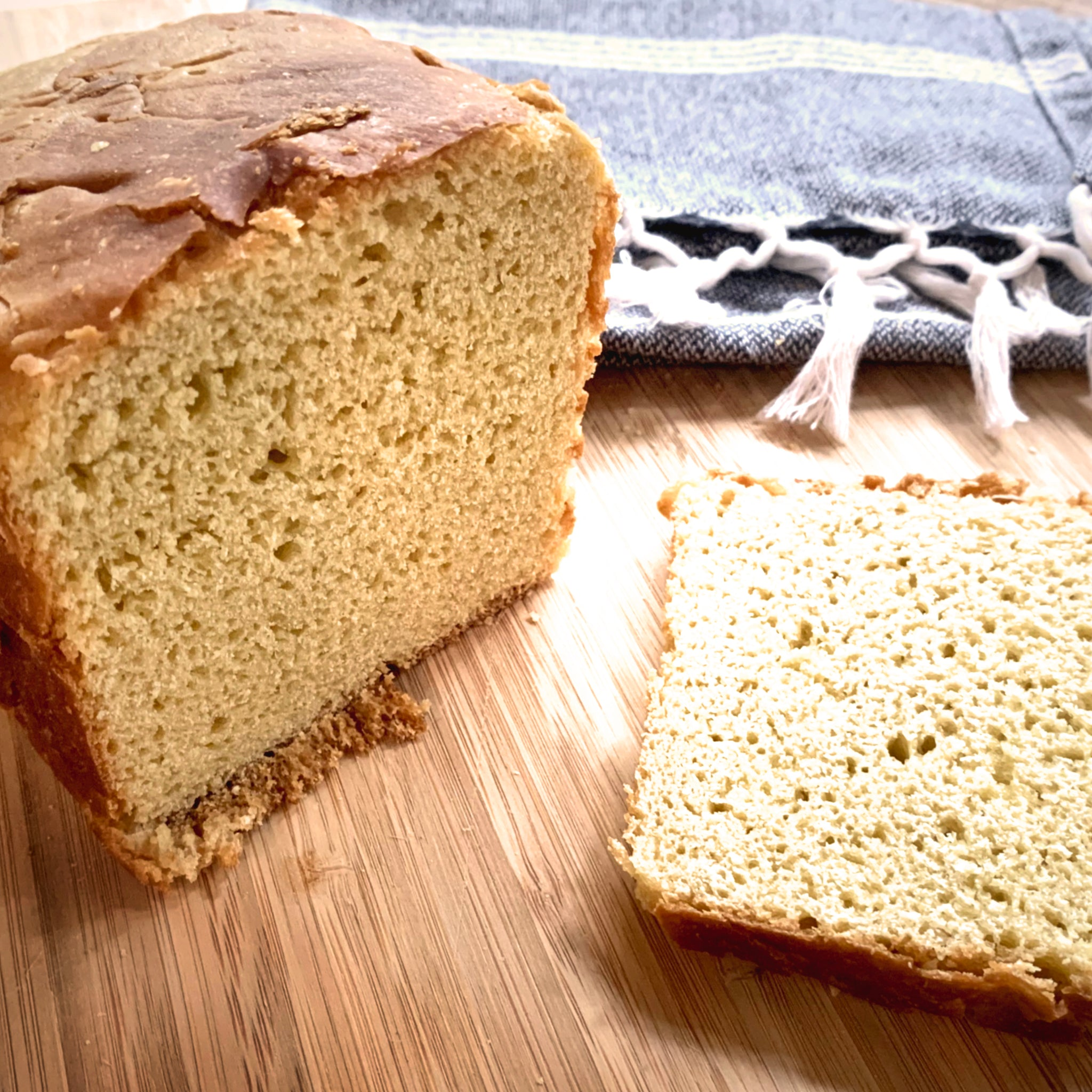 "Einkorn (""Nature's Original Wheat"") Sourdough Bread"
