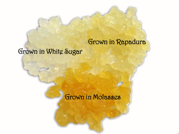 water kefir grains different sugar colors