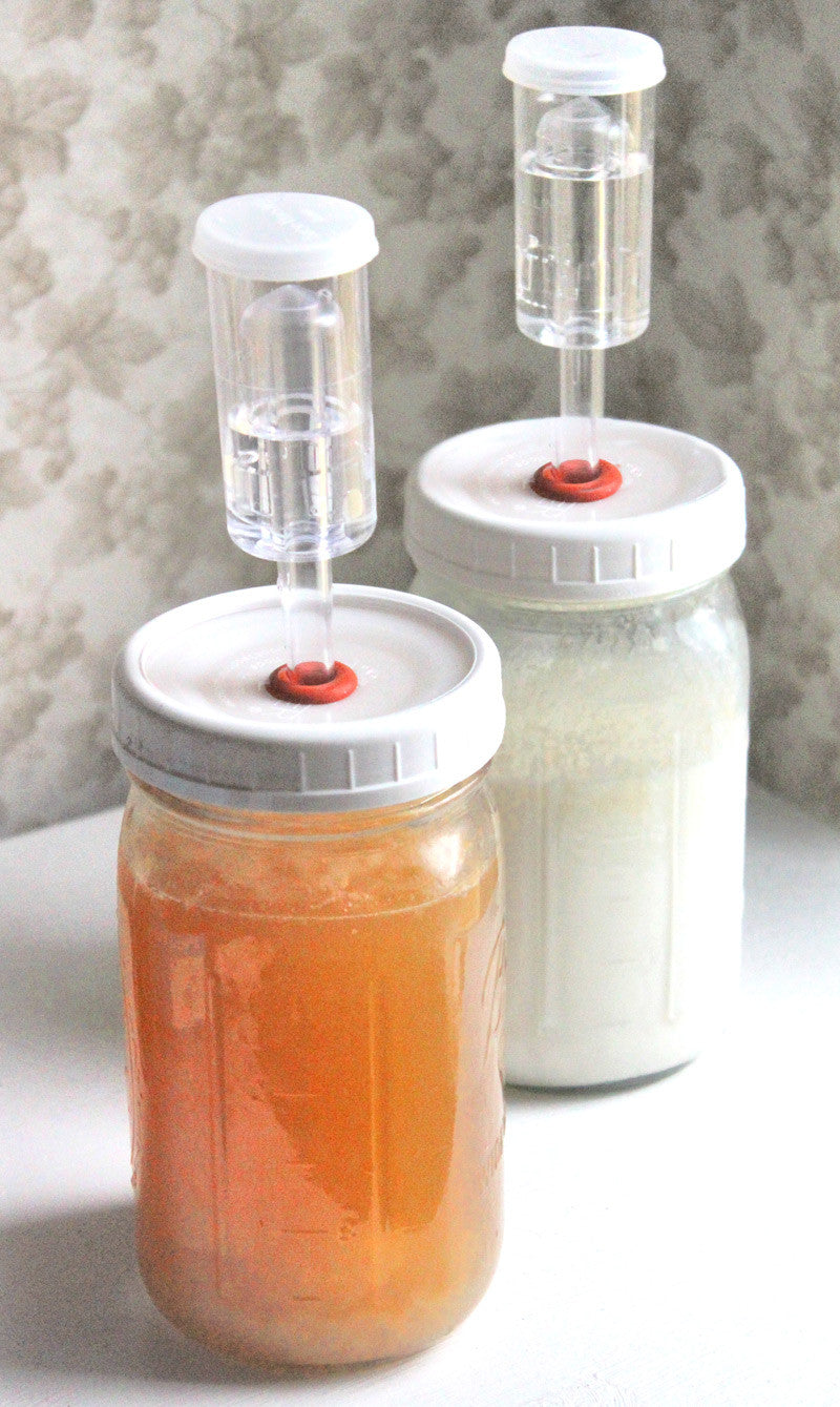 Better Ferment Airlock Lid System - Yemoos Nourishing Cultures