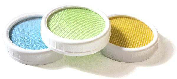 Polypropylene Lid: 3 Pack Lid Set - Yemoos Nourishing Cultures
