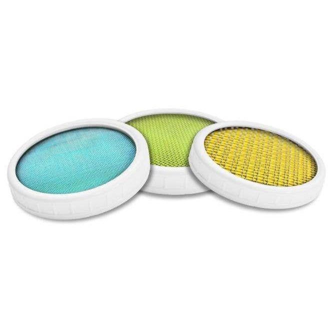 Stainless Steel Lid: 3 Pack Lid Set - Yemoos Nourishing Cultures