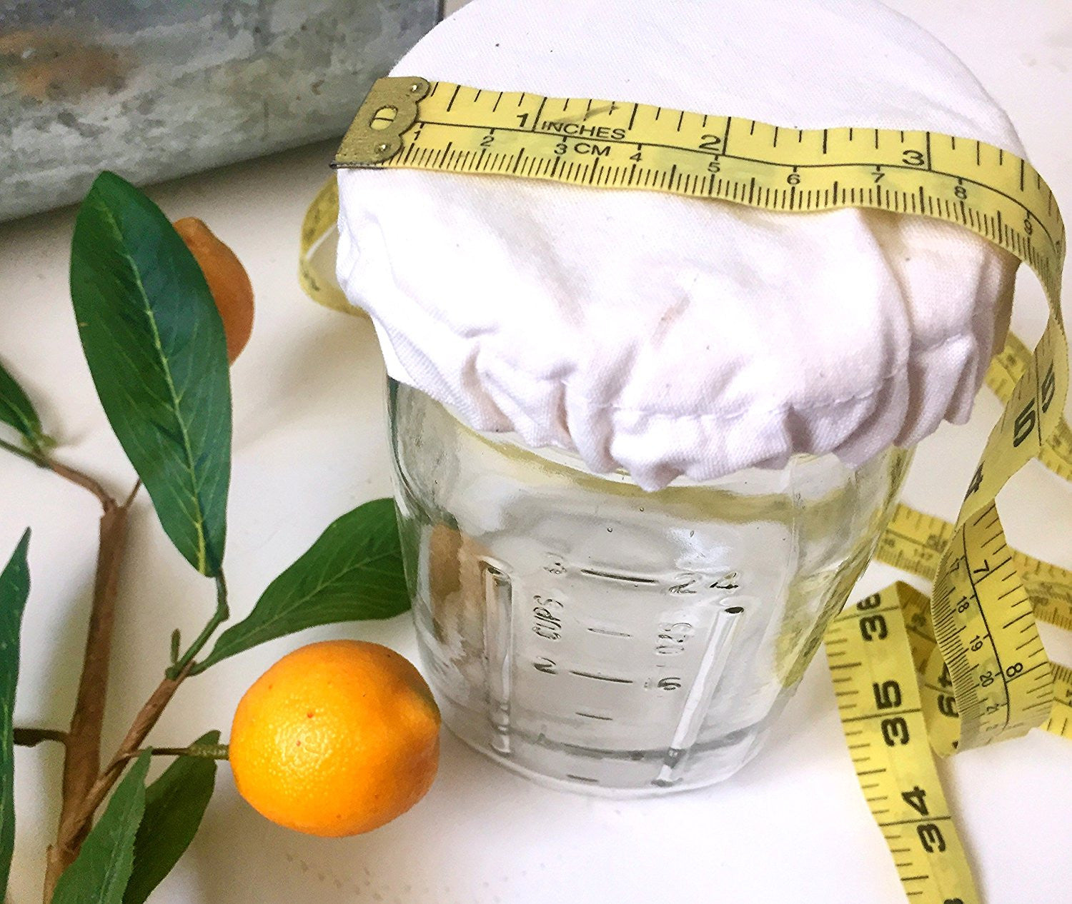 Elastic Cloth Jar Cover - Yemoos Nourishing Cultures