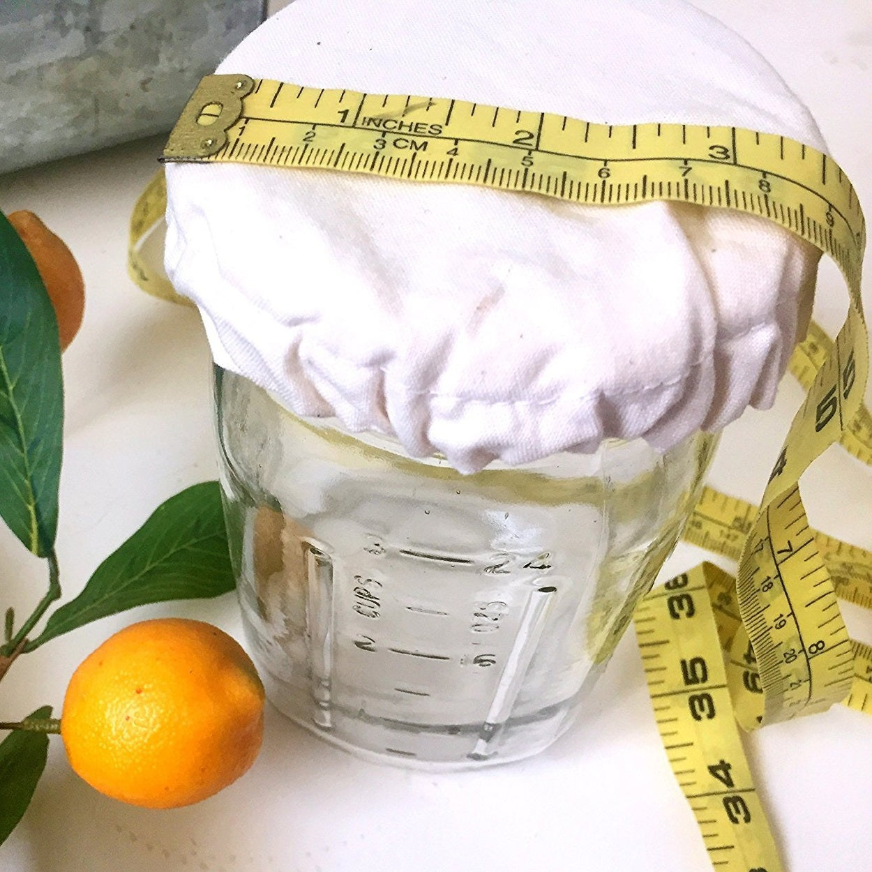 Elastic Cloth Jar Cover