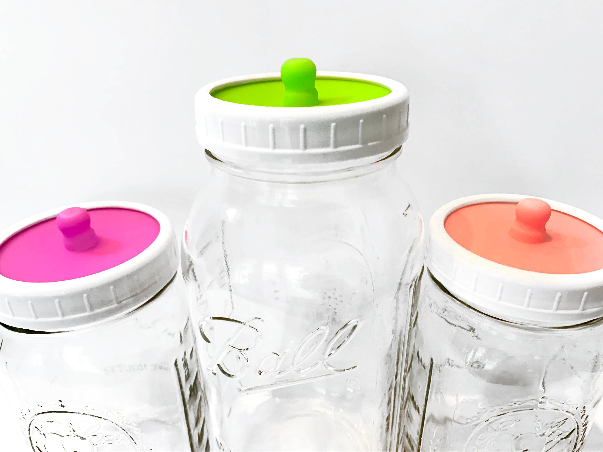 Waterless Airlock Fermentation Lid for Wide-Mouth Jars - Yemoos Nourishing Cultures