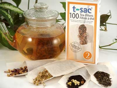 Loose Leaf Tea Bags - 100 Bags - Yemoos Nourishing Cultures