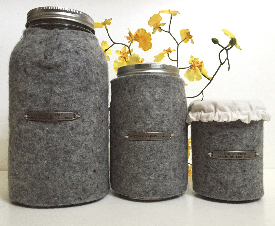 Wool Jar Insulator - Yemoos Nourishing Cultures