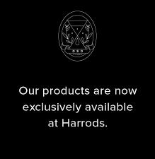 Our products now exclusively available in store at Harrods