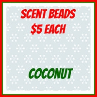 Scent Beads; Coconut
