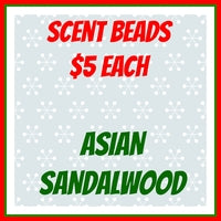 Scent Beads; Asian Sandalwood