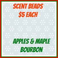 Scent Beads;  Apples & Maple Bourbon