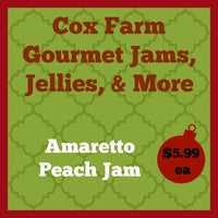 Amaretto Peach Jam