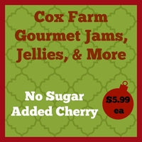 No Sugar Added Cherry Jam