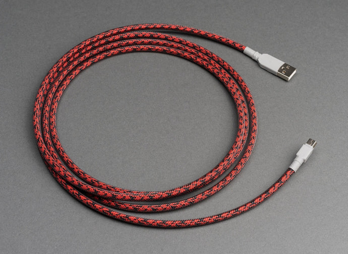 Carbon Themed Cable