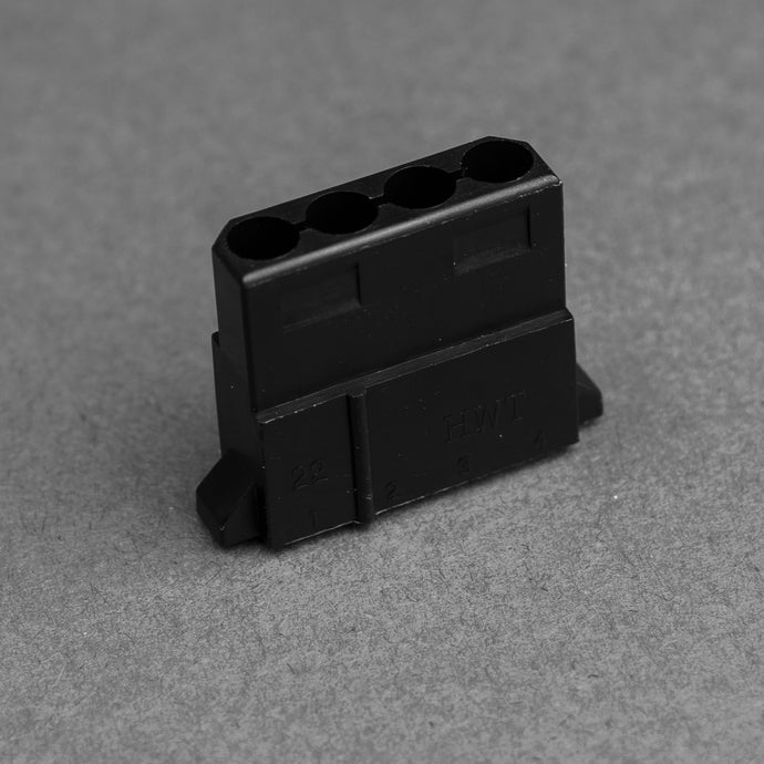 Fat 4 pin MOLEX Female connector