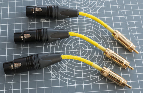 RCA // PHONO // XLR  Cables - Pexon PCs