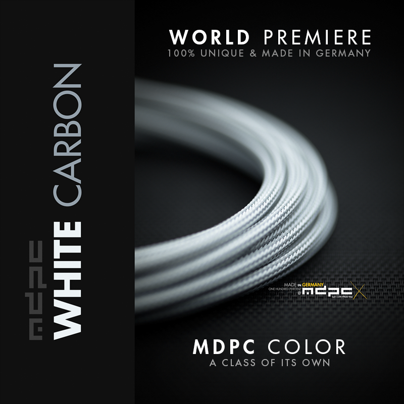 MDPC-X White Carbon Small