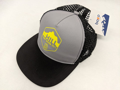 It's a Hill Get Over It - Running Trucker Hat with Ventilator Mesh