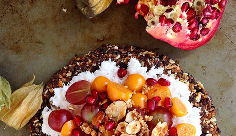 Granola Crust Fruit Pizza Recipe