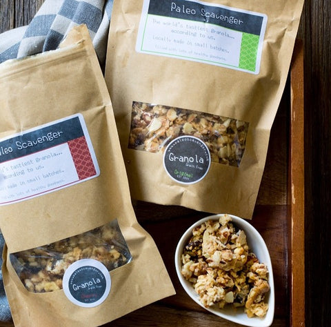 Within/Without Original and Cherry Granola Clusters