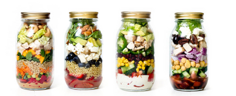 Ambitious Kitchen Mason Salad Jar Recipes