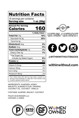 Back of pouch with nutrition facts