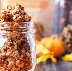 Pumpkin Paleo Granola in a Jar