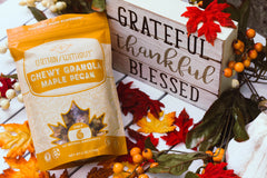 Maple Pecan Grain-Free Granola with Blessed Sign