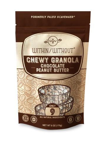 Dark Chocolate Peanut Butter Grain-Free Granola