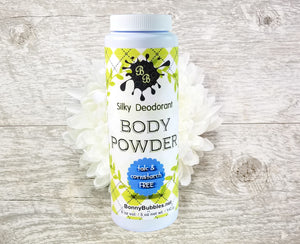 YLANG YLANG Body Powder deodorant - exotically floral - natural essential oil, organic by Bonny Bubbles