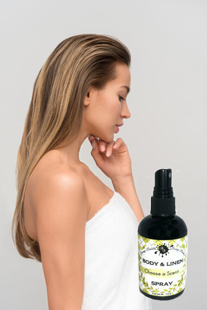 CALMING - Body and Linen Spray - 4 oz - Natural Pillow Spray