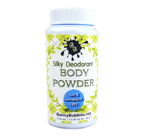 Body Powder - Talc and Cornstarch Free - Natural Dusting Powder - Pick a Scent