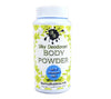 Body Powder travel size - silky deodorant dusting powder - pick a scent - organic no talc or cornstarch - poudre - by Bonny Bubbles