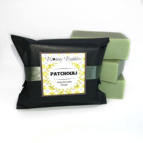 Patchouli - Handmade Soap - natural patchouly - by BonnyBubbles