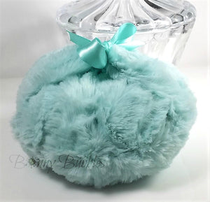 aqua body powder puff