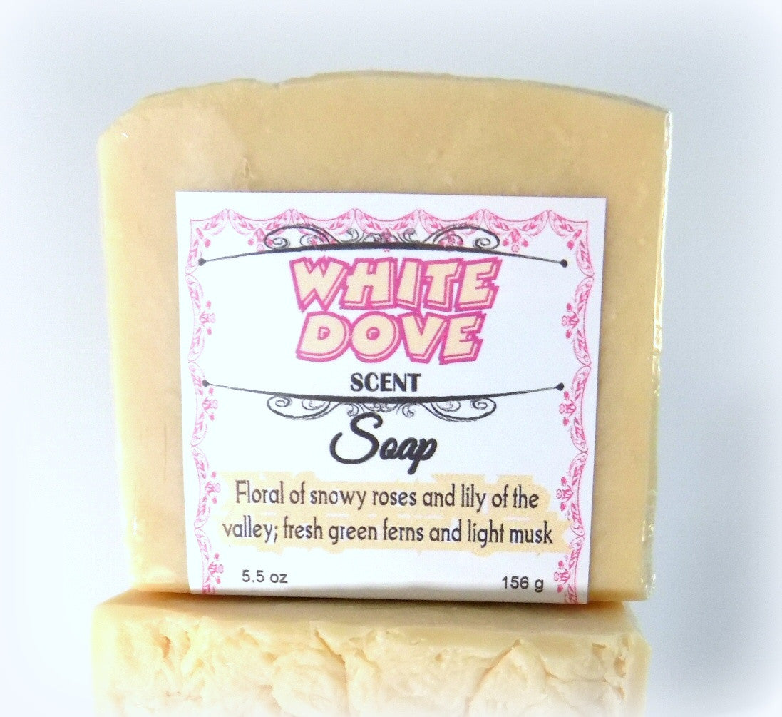 white dove soap