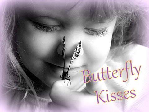 BUTTERFLY KISSES deodorant body powder - Lilac and Berries fruity floral - no talc or cornstarch - by Bonny Bubbles in Florida