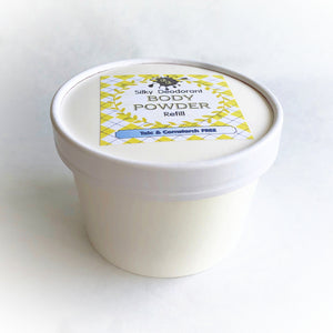 Body Powder refill - 3 oz - Pick a Scent - Talc and Cornstarch Free - Loose Powder - Eco Friendly Container - natural deodorant