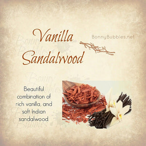 Vanilla Sandalwood body powder