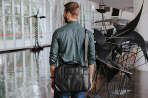 Leather Nômade Briefcase NW080